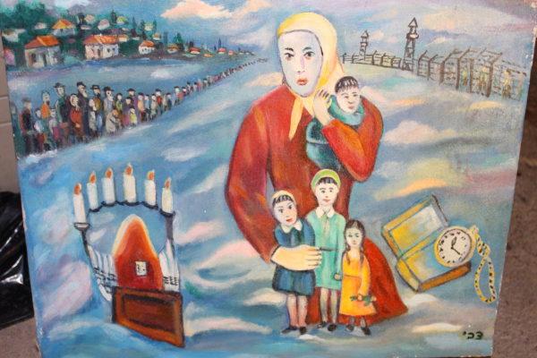Chanukka Tzvi Raphaeli Judaica Art Gallery Brooklyn