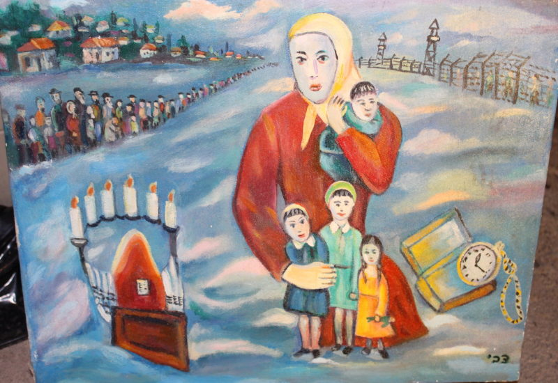 Chanukka Tzvi Raphaeli Judaica Art Gallery Brooklyn