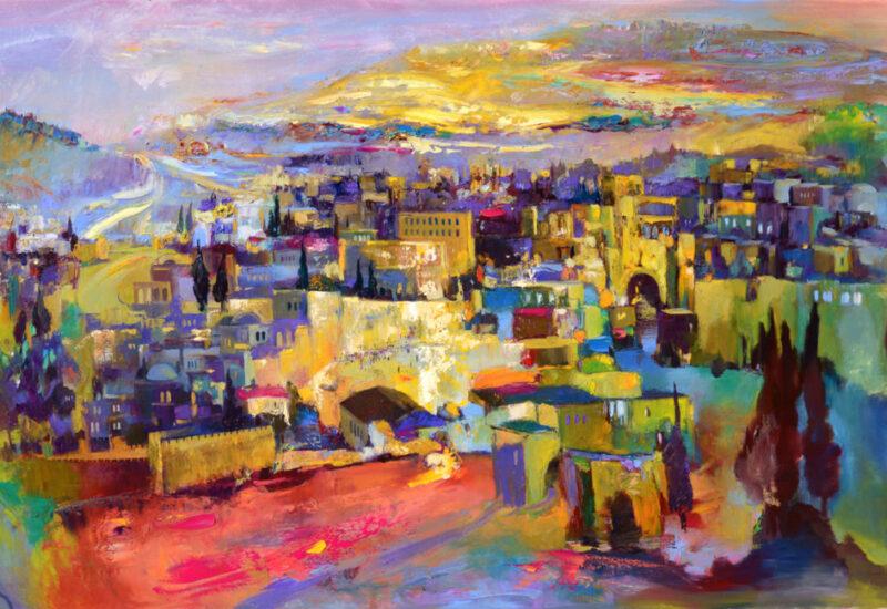 Anna Zarnitsky Judaica Art Gallery Long Island