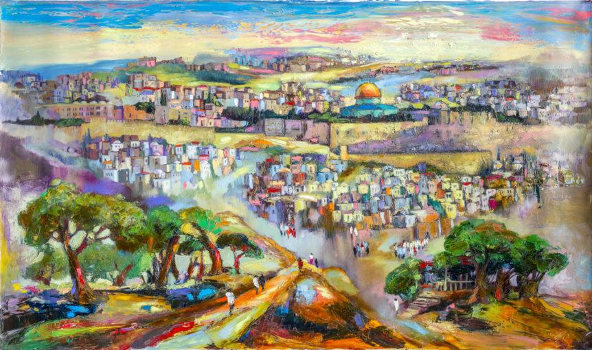 Anna Zarnitksy Judaica Art Gallery Brooklyn