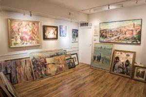 Inside Leviim art gallery image one