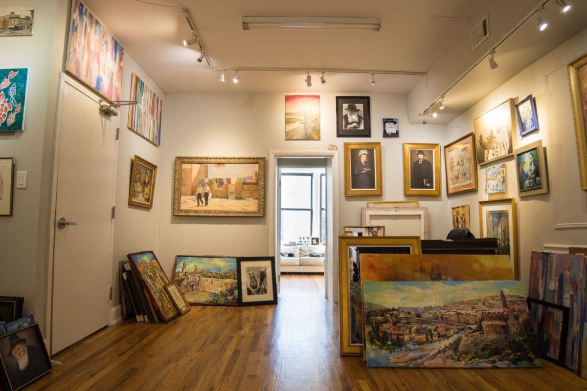 Leviim Art Jewish Art Gallery NYC
