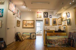 Inside Leviim art gallery image three