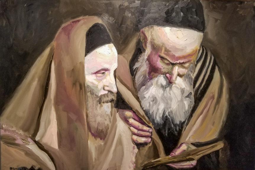 Leviim Judaica Art Gallery Crown Heights Brooklyn New York (Number One Jewish WholeSaler & Retailer) Robert kremnizer 40x60 jewish art manhattan