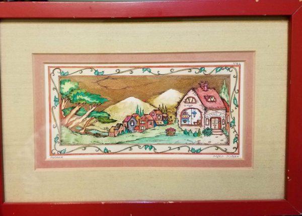 Michoel Muchnik house painting jewish art manhattan