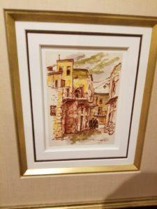Itshak Holtz Watercolor