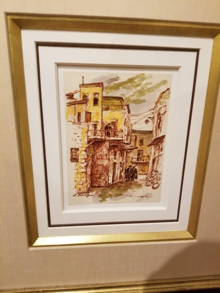 Itshak Holtz Watercolor