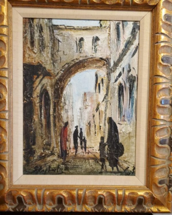 12x16 oil on canvas framed