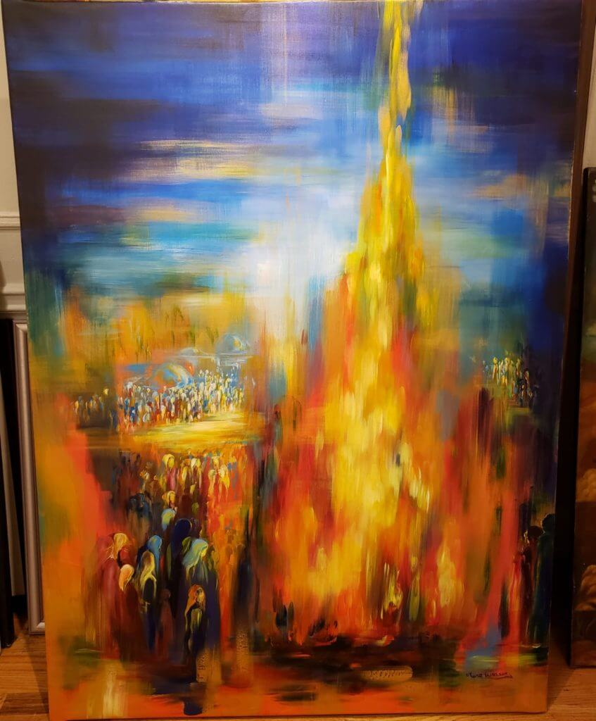 Jewish Art Mira Eisen Lag Baomer