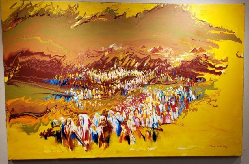 Jewish Art Yitzias Mitzraim