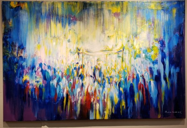 Jewish Art Mira Eisen Chuppah